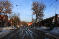 Бакунина. Вид с улицы Богдана Хмельницкого