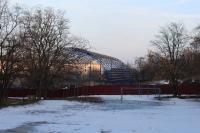 Строительство спортзала в 19 школе