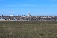 Панорама города со стороны Кривянской