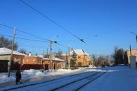 Улица Троицкая. Вид в сторону переулка имени Галины Петровой