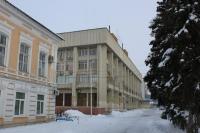 Здание администрации со стороны улицы Дворцовой