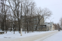 Улица Бердичевского. На переднем плане - улица Свободы, 17