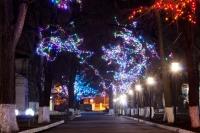 Украшение территории ЮРГПУ (НПИ) к новому году