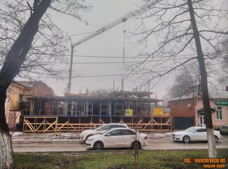 Строительство многоэтажного дома на проспекте Ермака