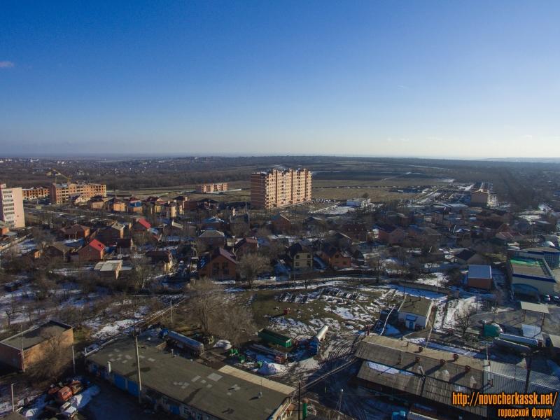 Жилые дома между улицей Ященко и Баклановским
