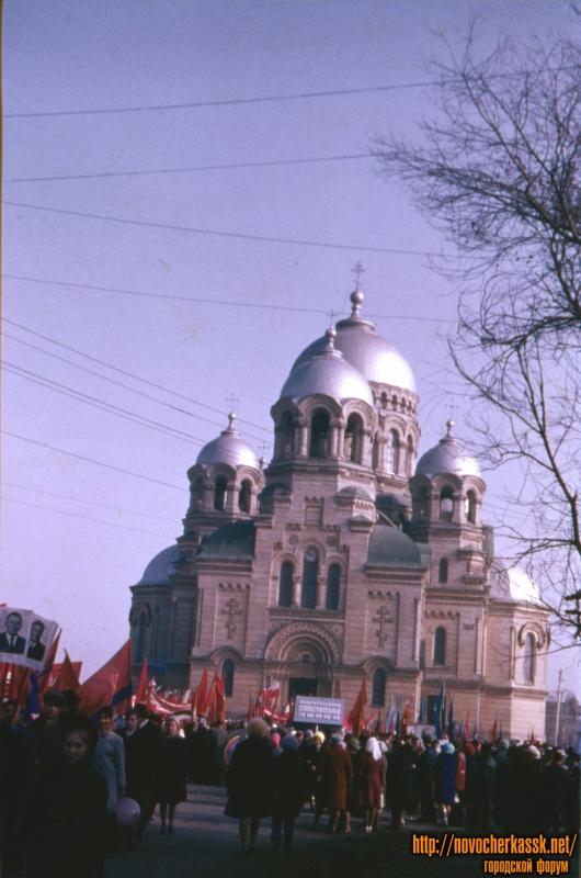 Площадь Ермака и собор