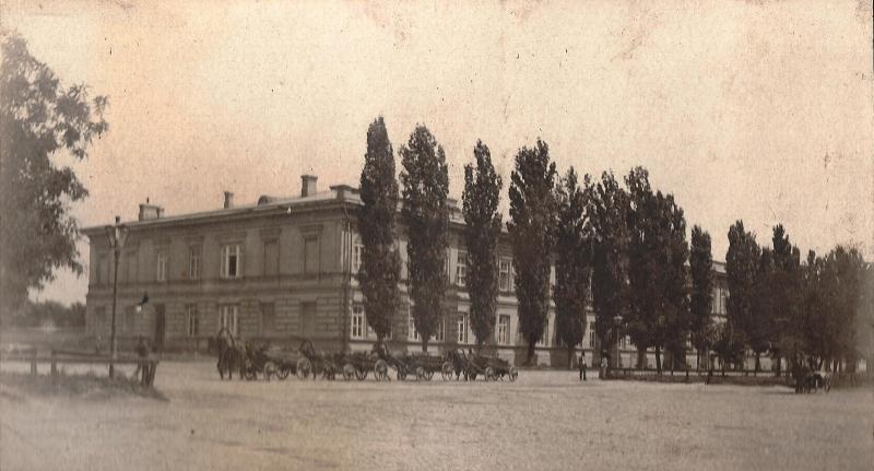 Здание мужской гимназии. Проспект Ермака