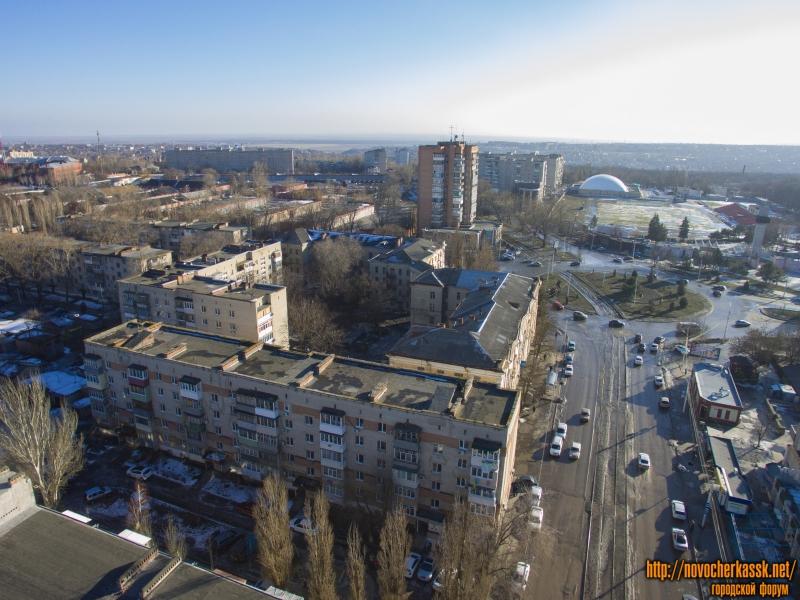 Площадь Юбилейная, улица 26 Бакинских комиссаров и проспект Баклановский