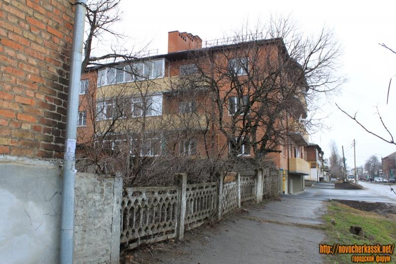 Забор в переулке Путиловском