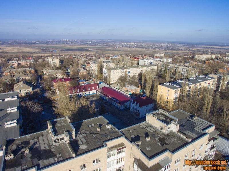 Жилые многоэтажки между улицами Народной и Буденновской