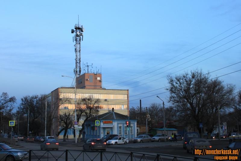 Перекресток Пушкинской и Баклановского
