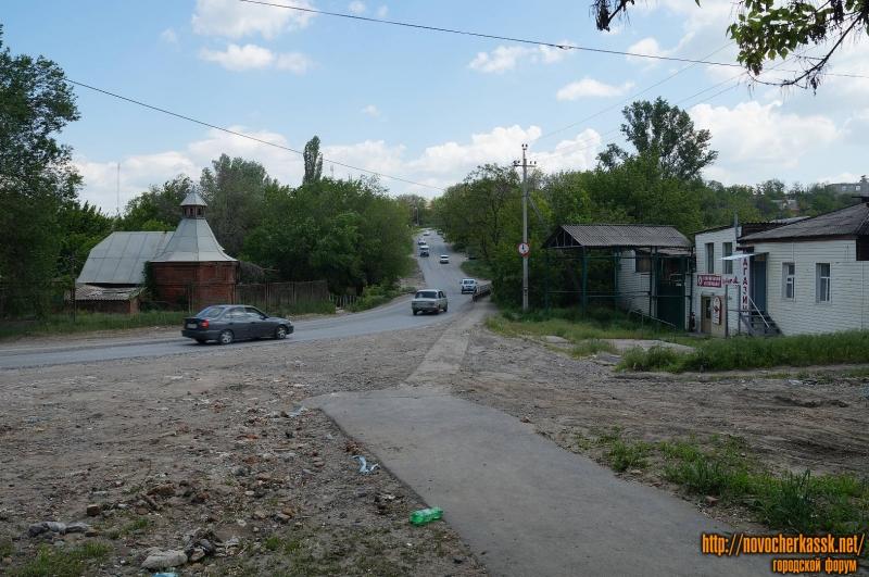 Вид на Платовский проспект