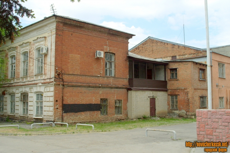 Дворцовая улица, №6. Вид со двора