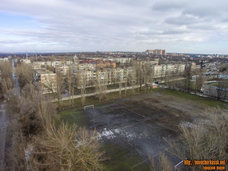 Вид на Соцгород и стадион