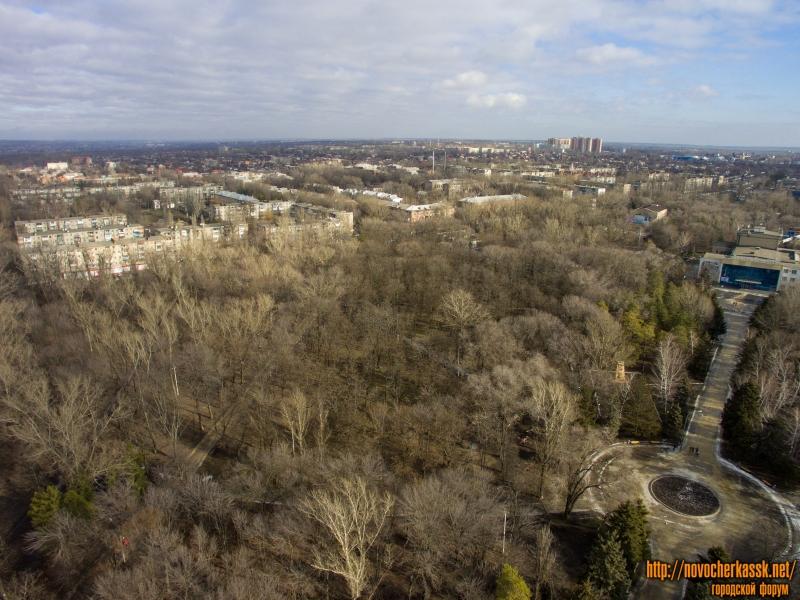 Парк и вид на Соцгород