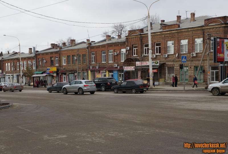 Торговые ряды на Платовском