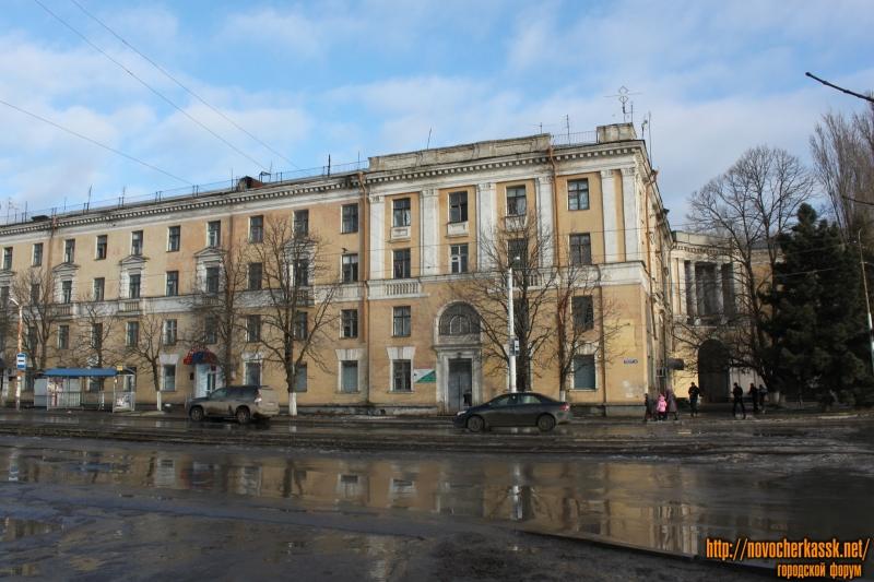 Общежитие на улице Юбилейной