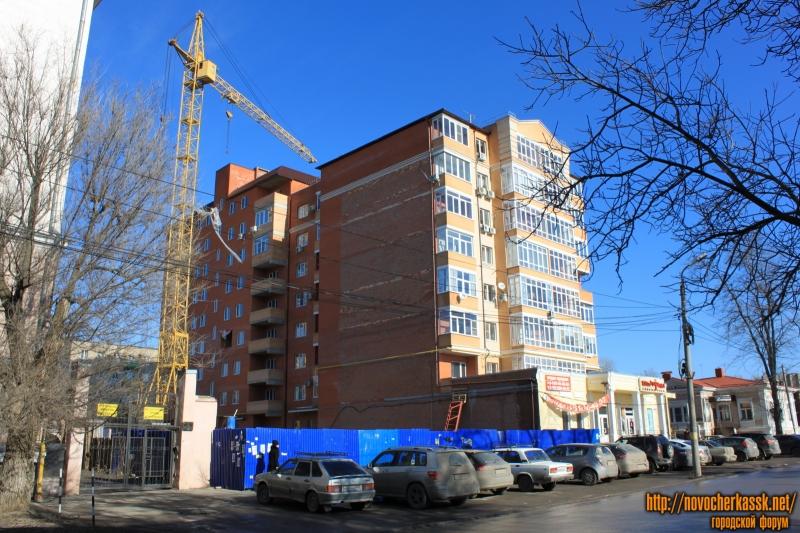 Строительство многоэтажки на улице Просвещения, 108