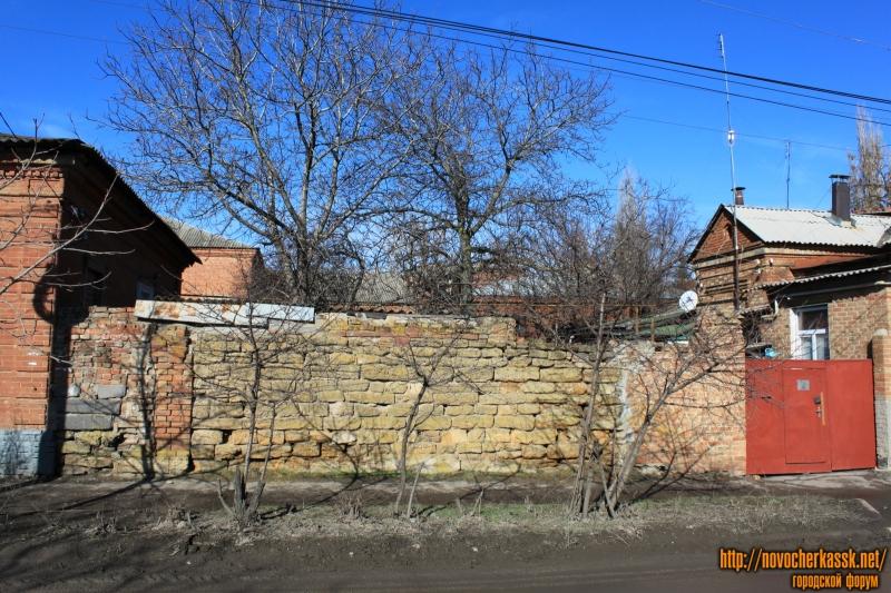 Забор на Просвещения