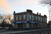 Улица Энгельса, 2. Вид с проспекта Баклановского