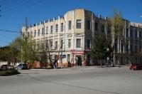Общежитие на углу Платовского и Орджоникидзе