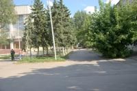 Улица Дворцовая. Аллея за Администрацией