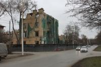 Разборка общежития на углу Баклановского и Островского