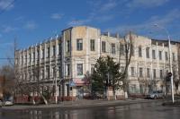 Общежитие строительного колледжа. Платовский, 118