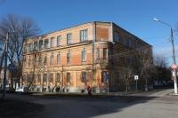 Здание школы №5. Угол Атаманской и ул. им. генерала Лебедя