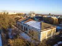 Бывшие гостинные ряды на проспекте Платовском (правое крыло)
