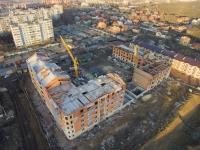 Строительство жилого дома на улице А.А. Ященко