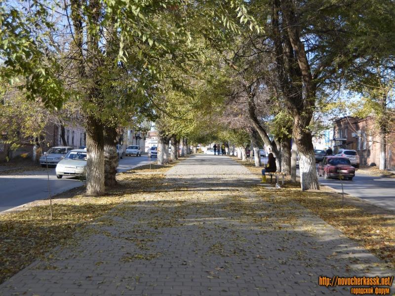 Аллея улицы Пушкинской