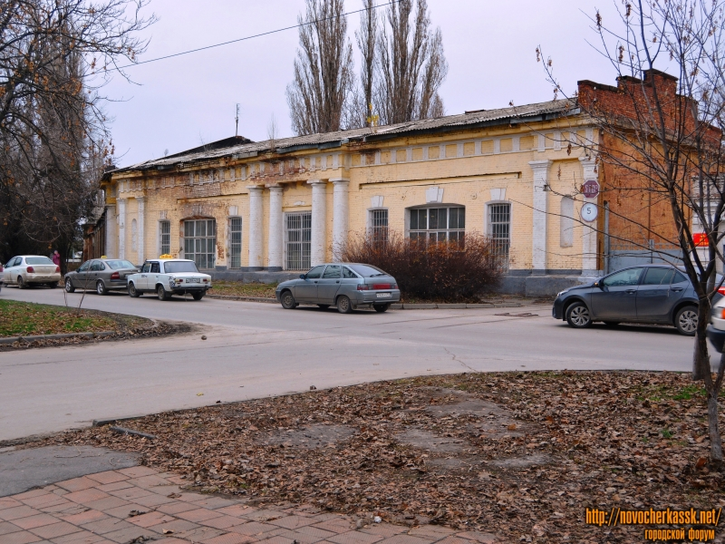Здание войскового арсенала-цейхгауза