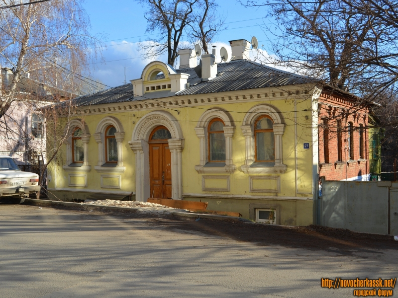 Особняк В.В. Мержанова