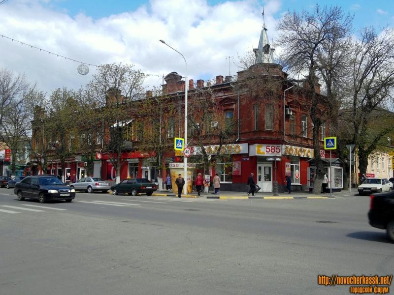 Здание бывшей гостиницы «Новочеркасск»