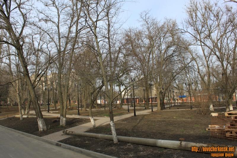 Сквер на территории детской больницы