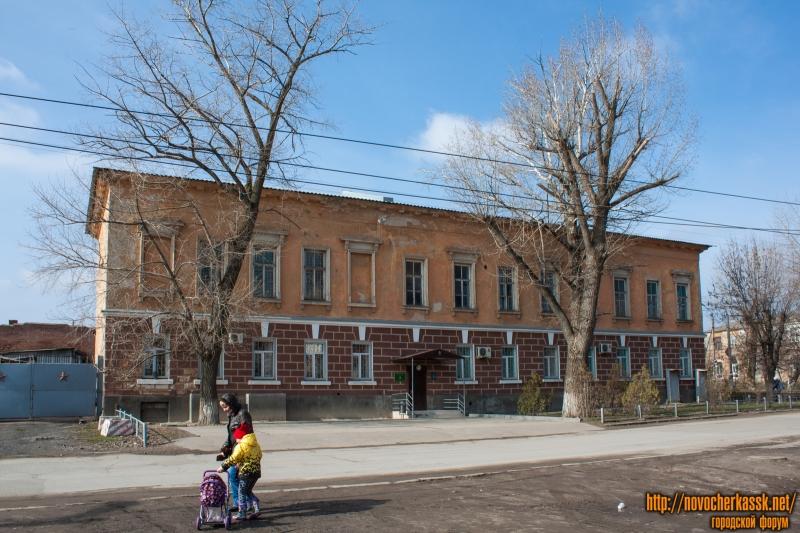 Проспект Платовский, 43Б. Вид с улицы Урицкого