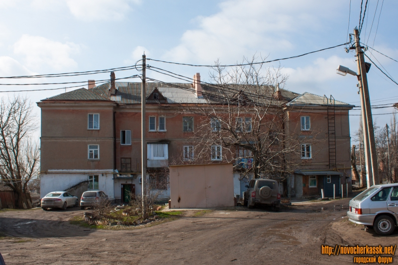 Проспект Ермака, 34. Вид со двора