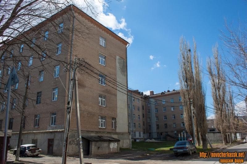 Общежитие ЮРГПУ (НПИ) №1. Улица Крылова, 6