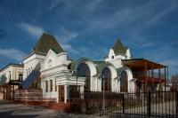 Строящийся ресторан в Александровском парке