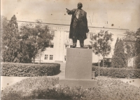 Памятник Ленину перед НЗСП (старая площадка)