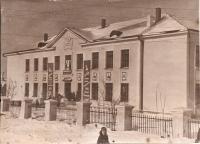 1954 г. Жилпоселок. Средняя школа №3 на 400 учащихся