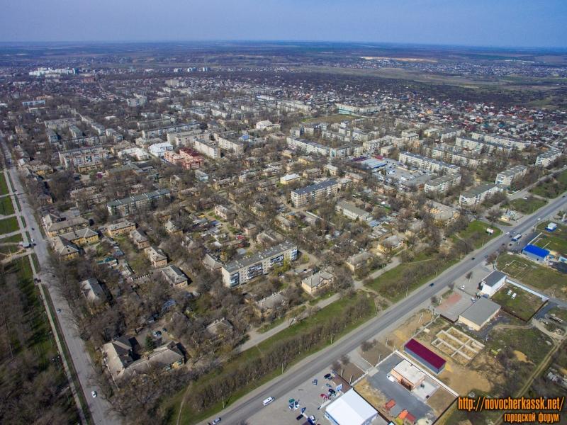 Вид на посёлок Октябрьский