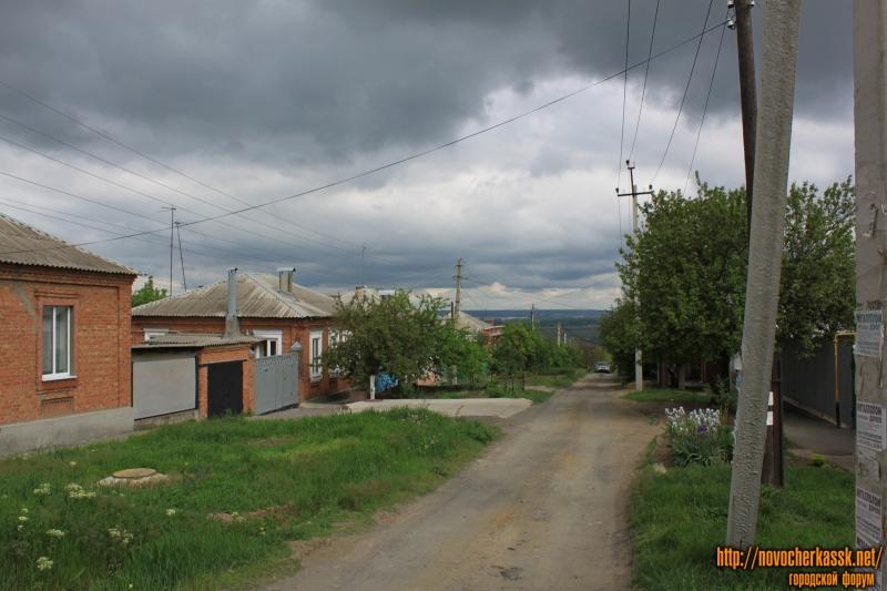 Переулок Западный. Вид с улицы Щорса