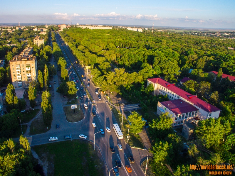 Проспект Баклановский, роща и кадетский корпус