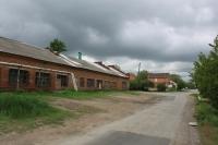Улица Щорса. Пересечение с Ларина. Слева  - Тепловые сети