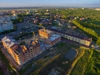 Строительство в районе улиц Ященко и переулка Рощинского