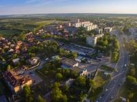 Въезд с город со стороны Ростова, и жилая застройка в микрорайоне «Сармат»