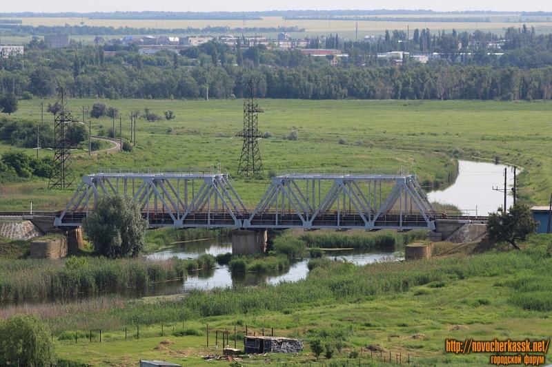 Железнодорожный мост через Тузлов