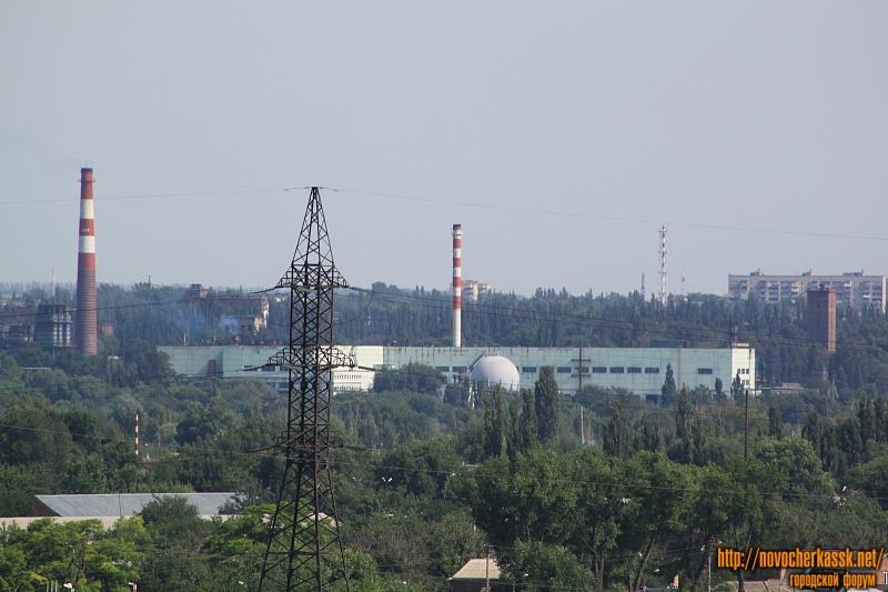 Один из цехов Новочеркасского электродного завода